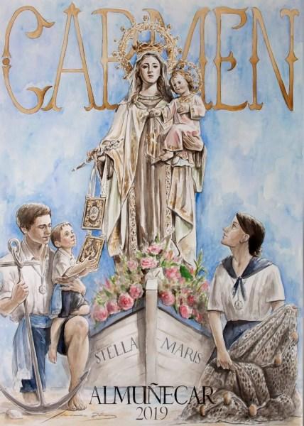 Almuñécar Fiestas Virgen del Carmen 2019 Patrona de Los Marinos