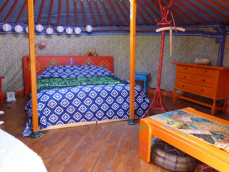 Glamping in Spain at the Nomad Xperience - yurts in Spain