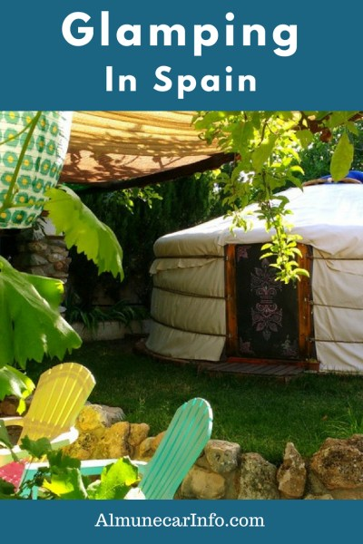 Have you been glamping in Spain? Well this is your chance to try a yurt, tipi & more, just outside of Granada. A nice mountain getaway from the city or coast. Read more on AlmunecarInfo.com