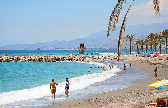 PLAYA_DE_TORRENUEVA Motril source wikimedia commons