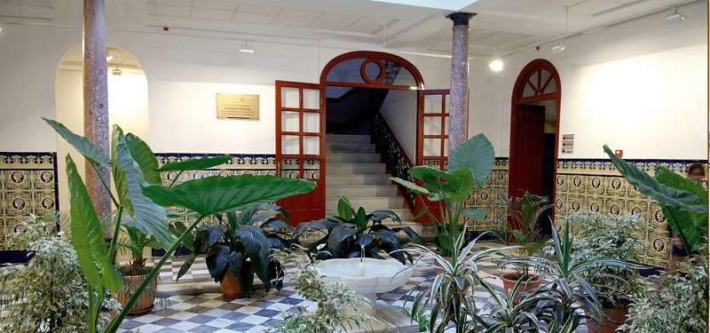 Casa Condesa Torre-Isabel in Motril. Cultural center and museum. photo credit from motrilturismo.com