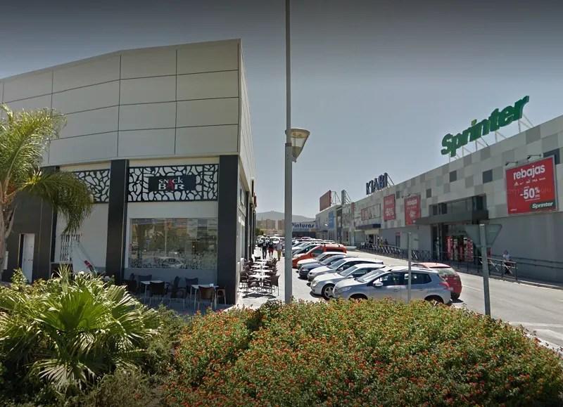 Shopping in Motril Kiabi, Sprinter, Worten