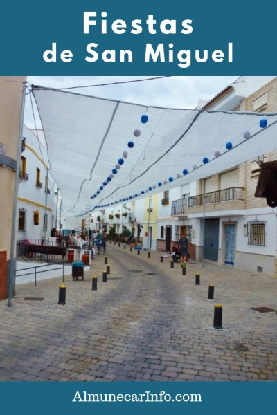 At the end of September we are always in for a treat with the Fiestas de San Miguel, in the barrio del Castillo Almuñécar!  Up high on the hill in old town, near the castle, the streets come alive for 3 days and nights. Read more on Almunecarinfo.com