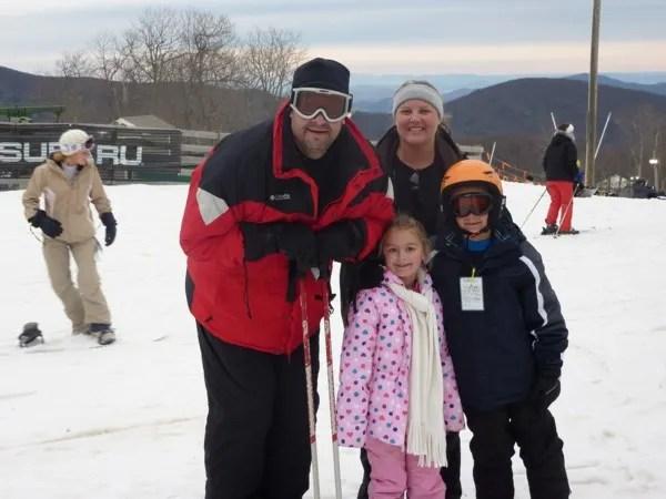 Take the family to ski in the Sierra Nevada