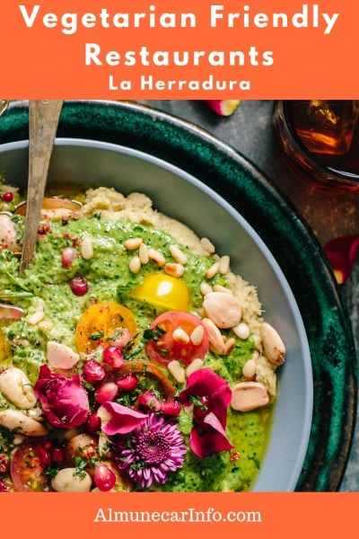 Vegetarian Friendly La Herradura Restaurants - While this isn't an all-inclusive list, here are several vegetarian friendly restaurants La Herradura, to get you started. Read more on AlmunecarInfo.com