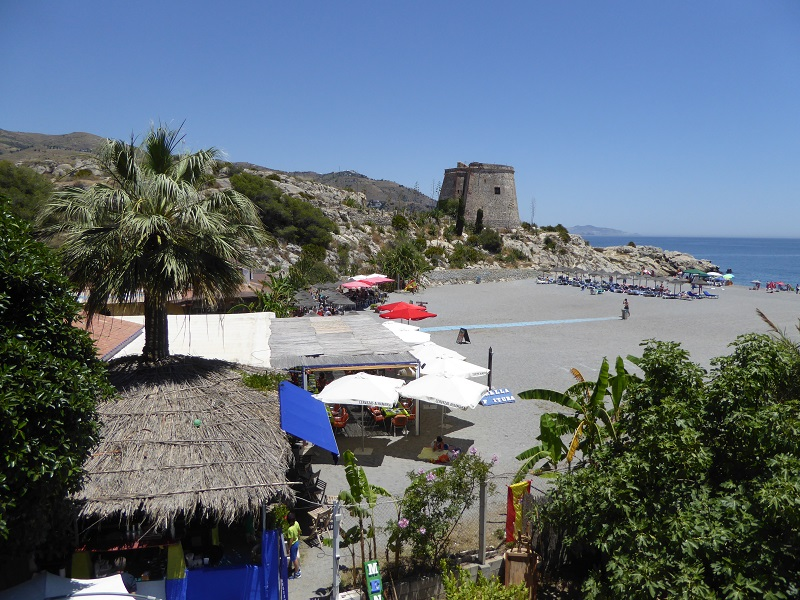 Almunecar Tesorillo Beach