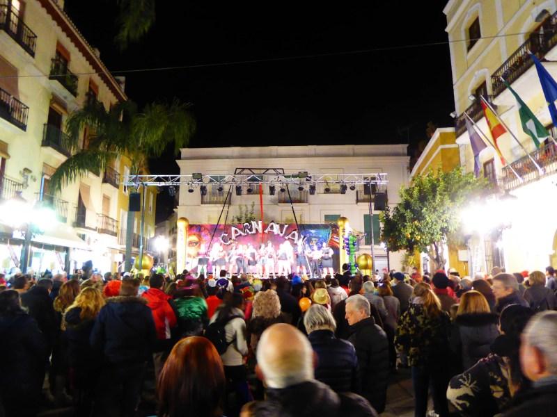 Almuñécar Carnival costume contest