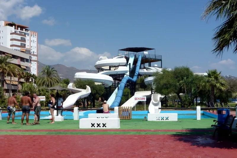 Aquatropic Almunecar water park and slides