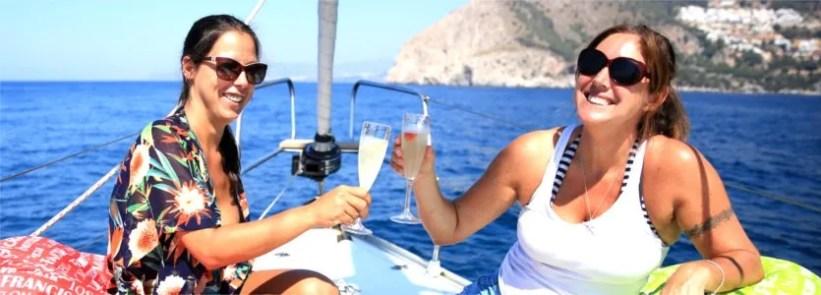 Sailing charter from Marina del Este La Herradura
