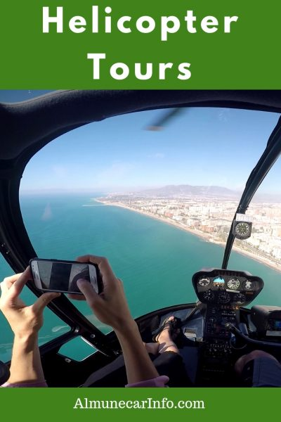 Get your camera ready! Take a helicopter tour in Costa del Sol. Do you have an adventurous side?  Why not experience Spain like you never have before!  Imagine flying over beautiful white villages in Andalucia or along the breathtaking coast and having that unique birds-eye view.  Treat yourself to a little luxury and take a helicopter tour! Read more on Almunecarinfo.com
