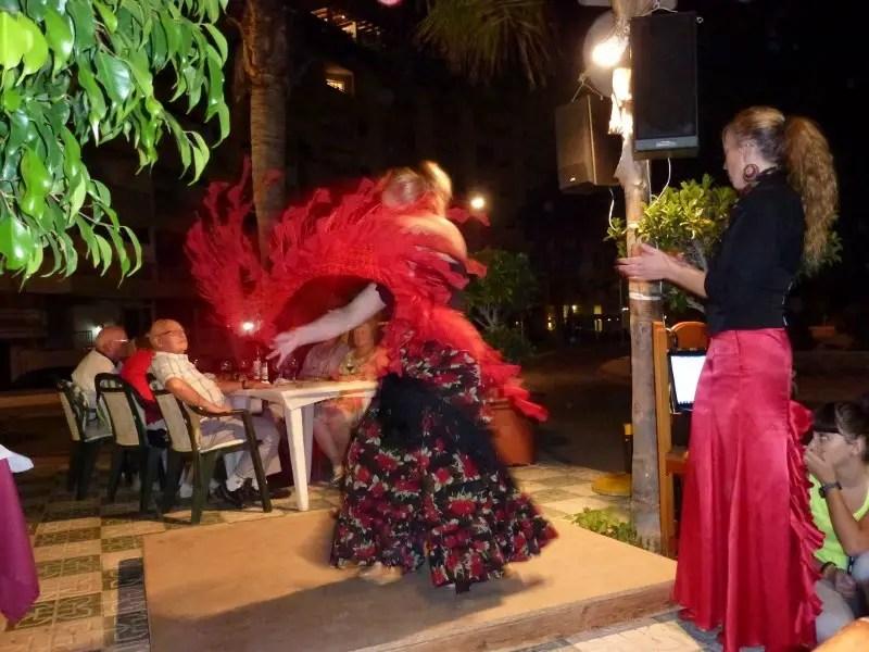 flamenco dancing almunecar