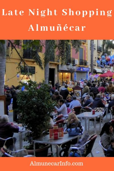 The streets are lit, the stores are open, the city is buzzing with people, and the ambiance is everywhere!  It's late night shopping Almuñécar style!  This event takes place year, but 2019 has some extras in store for us! Read more on Almunecarinfo.com