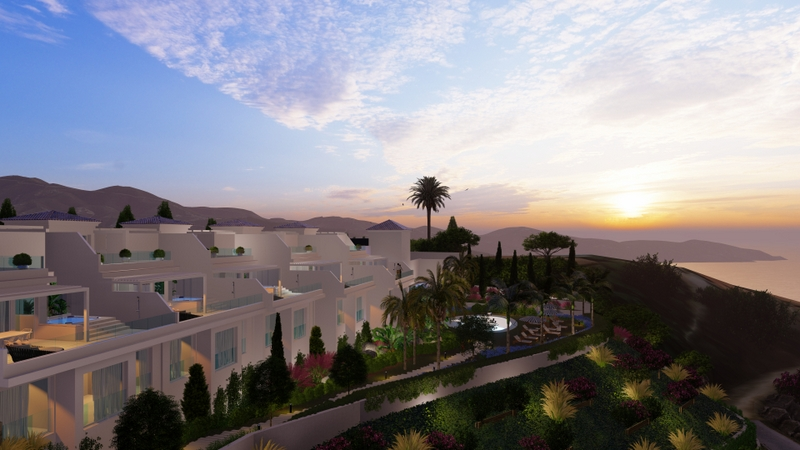 Luxury villas in Costa Tropical Spain, named Sanntonio. Perched above La Herradura, with breathtaking sea & mountain views and a village community. Read more on Almunecarinfo.com