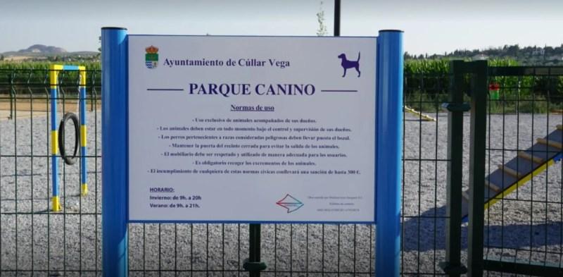 Parque Canino Cúllar Vega, Granada