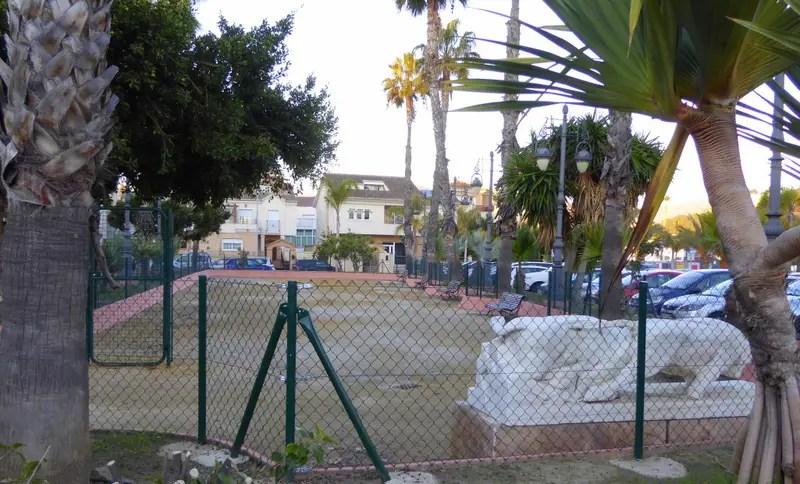Almuñécar Alhucemas Gardens Almunecar dog park P4