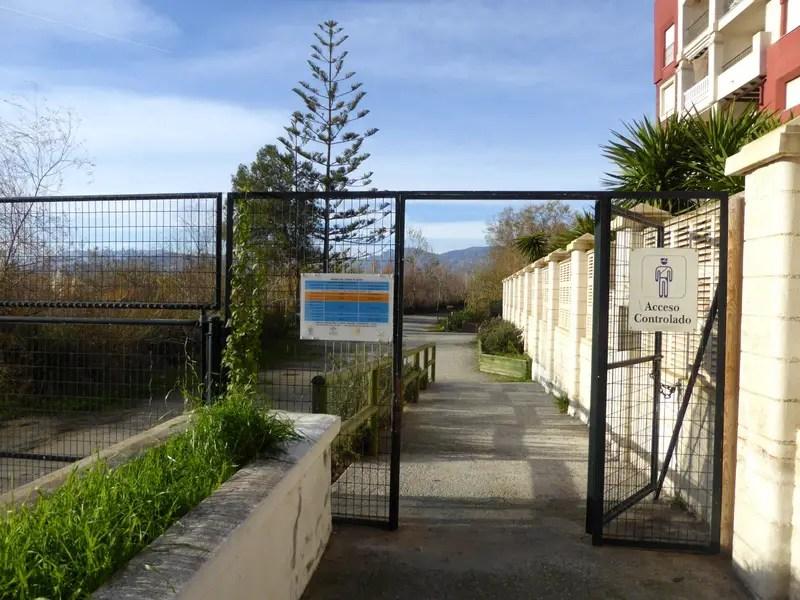 Charca de Suárez wetlands entry