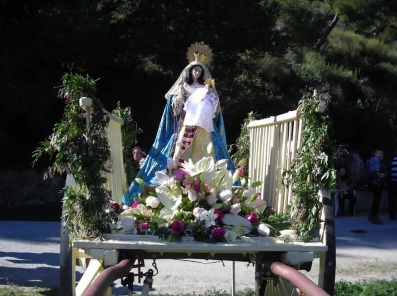Fiestas de La Candelaria de Lobres, Salobreña. photo from Facebook: Asociación Ntra Sra de la Candelaria de Lobres.