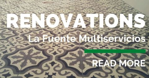 La Fuente Multiservicios offers all you need to renovate or maintain your home or business. We are dedicated to providing the best construction, renovation, and remodels for you.