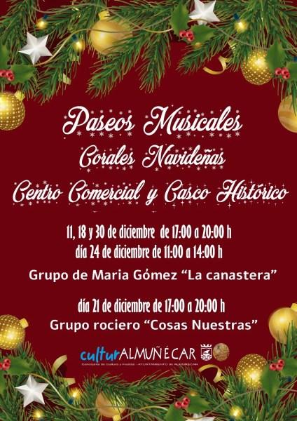 December Christmas Carols Almuñécar. Read more on Almunecarinfo.com