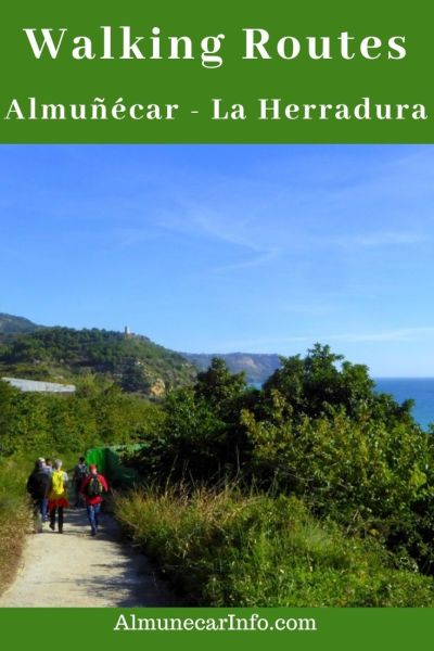 Some favorite walking routes Almuñécar - La Herradura & surrounding areas. Get out and explore the Costa Tropical walking routes we suggest or you can create your own.  Read more on Almunecarinfo.com