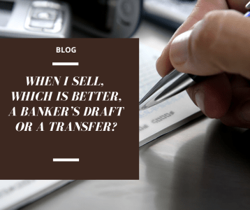 Selling a property in Spain! Which is better a bank draft or transfer?