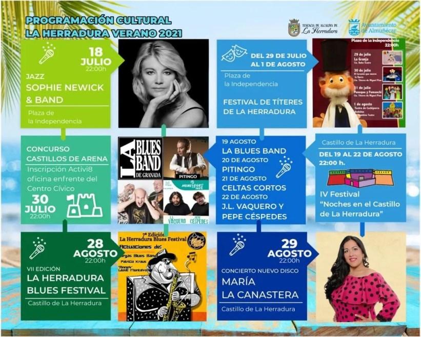 La Herradura Cultural Agenda summer 2021