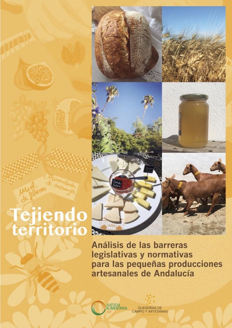 Análisis de las barreras legislativas y normativas para las pequeñas producciones artesanales de Andalucía