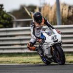 L'almussafeny Aarón Polanco signa un bon cap de setmana en el circuit d'Albacete