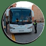 La Policia Local d'Almussafes participa en la campanya de control del transport escolar de la DGT