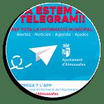L'Ajuntament d'Almussafes obri un nou canal d'informació a través de Telegram