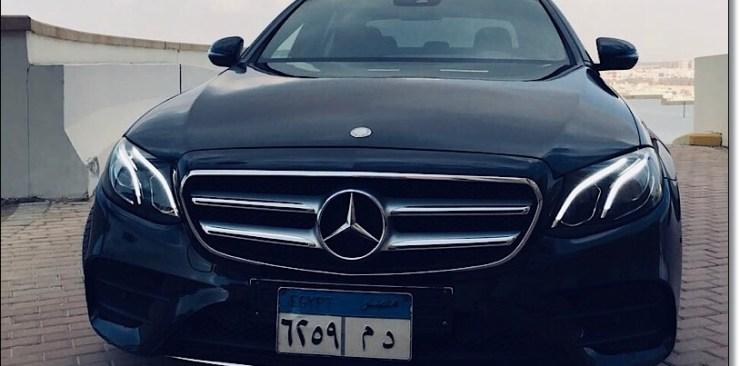 ايجار سيارات e200 2017 2018 في مصر