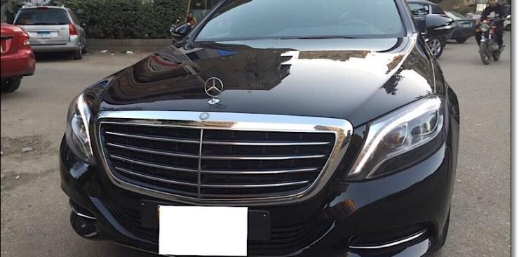 ايجار أحدث مرسيدس S400 يخت بانوراما