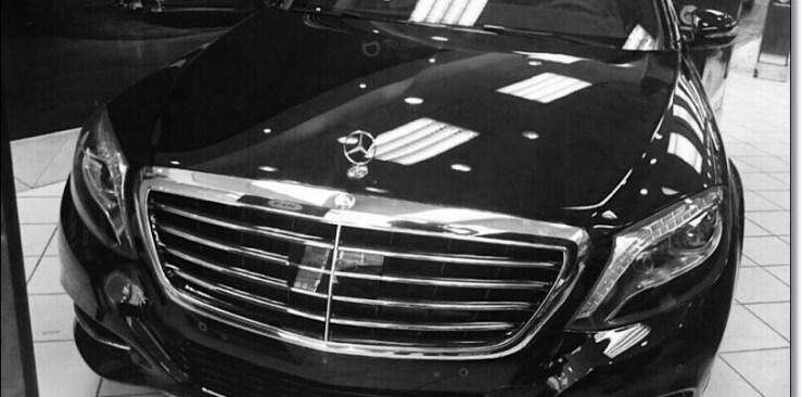 تأجير سيارات مرسيدس s400 بانوراما اليخت