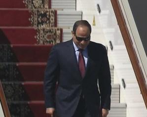 الرئيس السيسى يستقبل نظيره الإريترى فى قصر الاتحادية