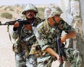 بعد معركة شرسة الجيش يطارد عشرات المسلحين في رفح
