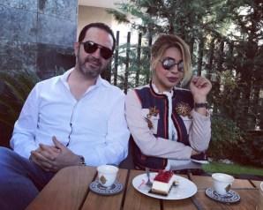 بالصور: نوال الزغبي تزور وائل جسار وزوجته في منزلهما