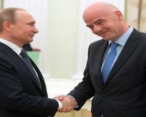 بوتين يتودد إلى الفيفا