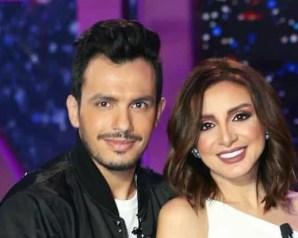 أنغام ترد بصورة لها هى وزوجها الموزع أحمد إبراهيم بعد إشاعة إنفصالهم