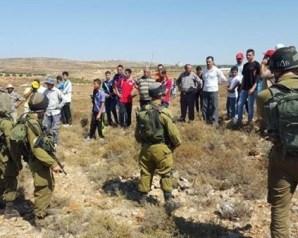 الاحتلال يمنع المزارعين الفلسطينيين من العمل في الأغوار الشمالية