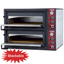 ELECTRIC OVEN 2x 4 PIZZAS 2 ROOMS