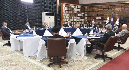 الهيئة القيادية للتحالف الوطني توصي بتكثيف الاجتماعات للوصول إلى رؤية مشتركة