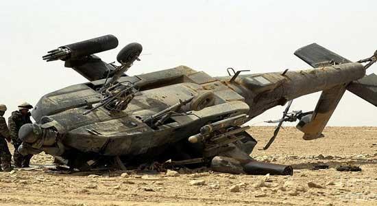 سقوط طائرة أمريكية في أفغانستان