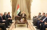 العبادي يبحث مع شركة سيمنز توفير الكهرباء واحتياجات العراق المستقبلية