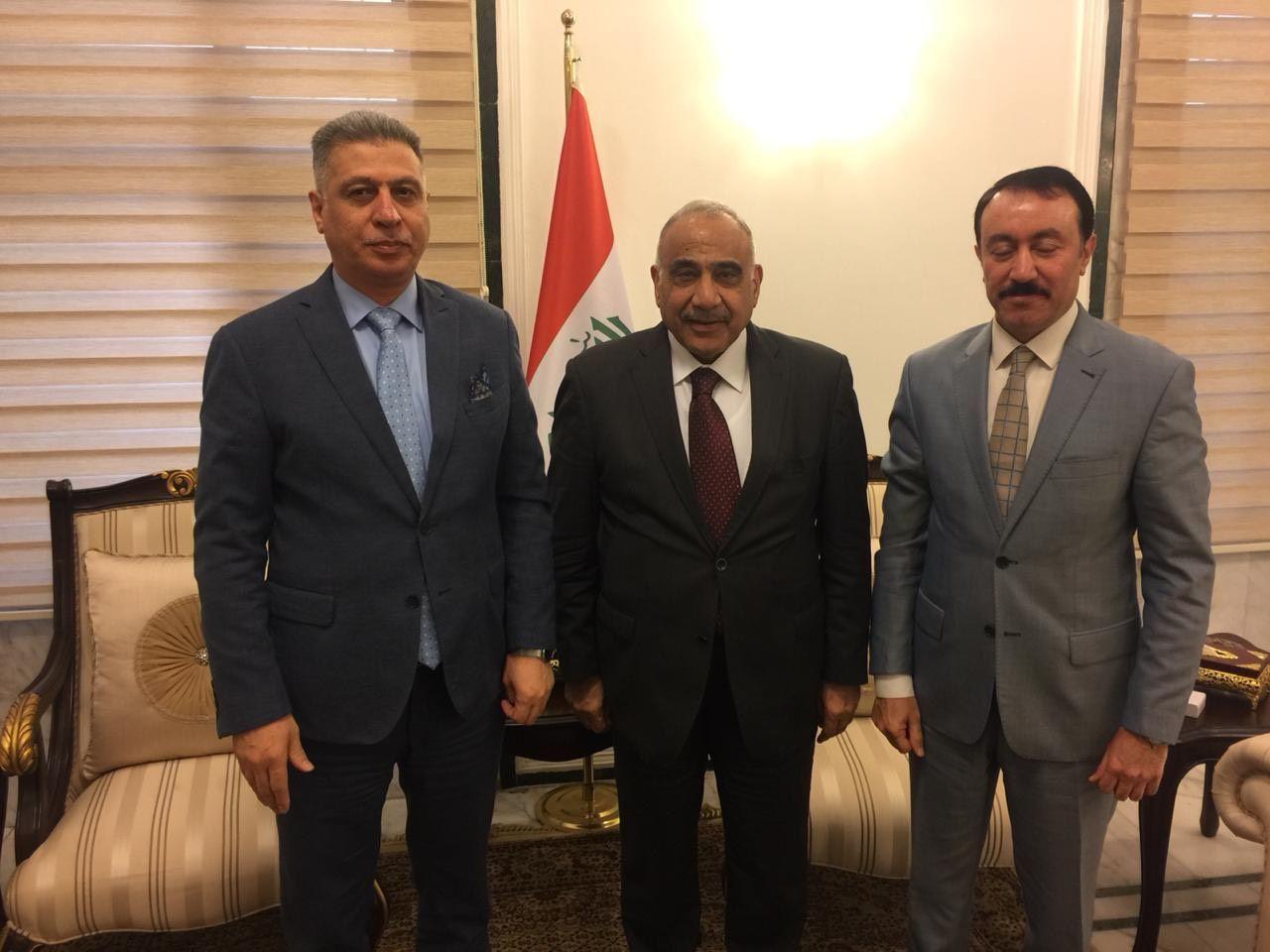 الصالحي: بحثنا مع عبدالمهدي الملف الأمني والتوازن القومي في كركوك