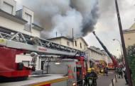 اندلاع حريق بموقع تاريخي في فرنسا