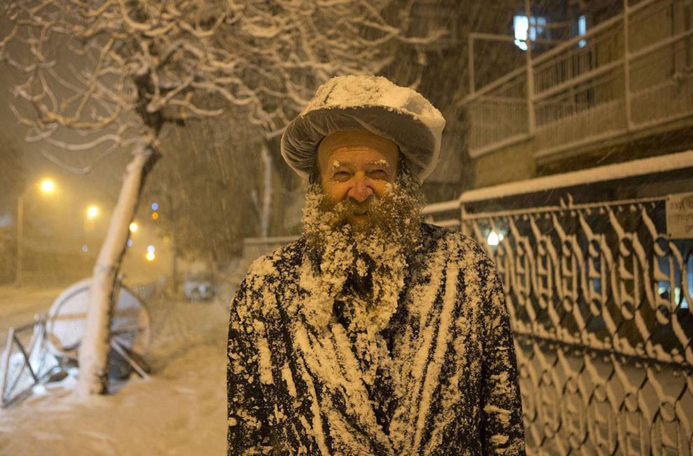 თოვლი იეროშალაიმში