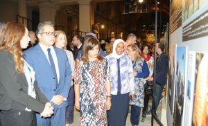 بالصور..حفل افتتاح معرض 150 عاما من الزيارات الملكية البلجيكية لمصر