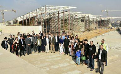 قالوا أن حضارة هذا البلد هى حائط صد الإرهاب .. 150 دبلوماسيا يزورون المتحف المصرى الكبير