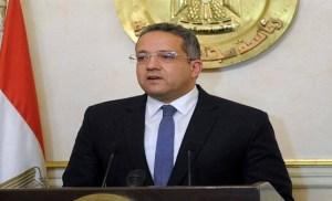 وزير الأثار والقائم بأعمال السفير الأمريكى يتفقدان أعمال ترميم قبة الإمام الشافعى
