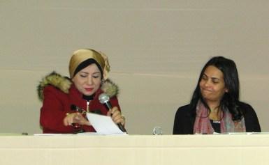 بالصور .. مخيم ديوان الشعر  بمعرض الكتاب يحتفى بالطلبة وابداع المرأة